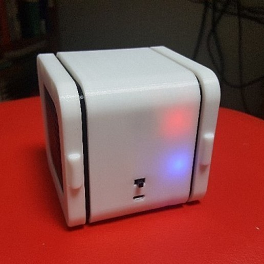 Download free STL file Bluetooth Cube Speaker • 3D printing template, teraswing