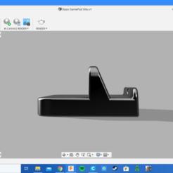 Captura de pantalla (62).png Télécharger fichier STL Support pour manette de jeu WiiU • Objet pour impression 3D, ExePaintings