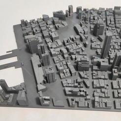 05.jpg Download STL file 3D Model of Manhattan Tile 05 • 3D printing template, denalain4