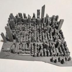 c34.jpg Download STL file 3D Model of Manhattan Tile 34 • Template to 3D print, denalain4