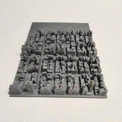 c41.jpg Download STL file 3D Model of Manhattan Tile 41 • 3D printing template, denalain4