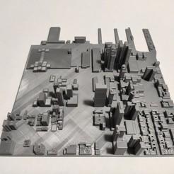 c27.jpg Download STL file 3D Model of Manhattan Tile 27 • 3D printer object, denalain4