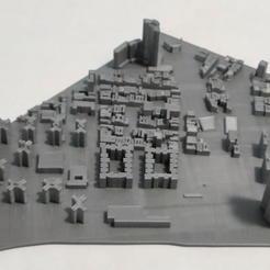 07.jpg Download STL file 3D Model of Manhattan Tile 07 • Template to 3D print, denalain4