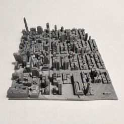 c42.jpg Download STL file 3D Model of Manhattan Tile 42 • 3D printable template, denalain4