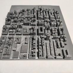 c43.jpg Download STL file 3D Model of Manhattan Tile 43 • Template to 3D print, denalain4
