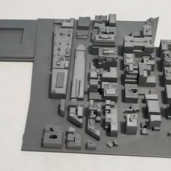 Impresiones 3D Modelo 3D del Azulejo de Manhattan 08, denalain4