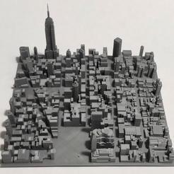 25.jpg Download STL file 3D Model of Manhattan Tile 25 • Template to 3D print, denalain4