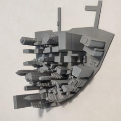 02.jpg Download STL file 3D Model of Manhattan Tile 02 • Design to 3D print, denalain4