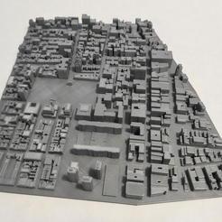 13.jpg Download STL file 3D Model of Manhattan Tile 13 • 3D printer template, denalain4