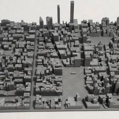 20.jpg Download STL file 3D Model of Manhattan Tile 20 • Design to 3D print, denalain4