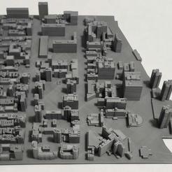 Impresiones 3D Modelo 3D del Azulejo de Manhattan 26, denalain4