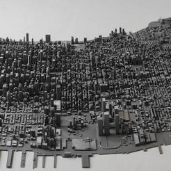 Download 3D model 3D Model of Manhattan Tiles 01-46, denalain4