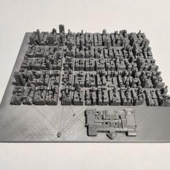 c45.jpg Download STL file 3D Model of Manhattan Tile 45 • 3D printer object, denalain4