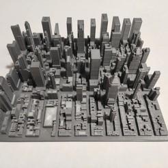 c32.jpg Download STL file 3D Model of Manhattan Tile 32 • 3D printing template, denalain4