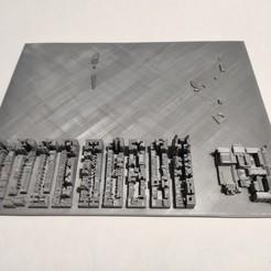 Impresiones 3D Modelo 3D del Azulejo de Manhattan 44, denalain4