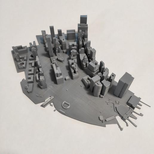 Télécharger fichier impression 3D gratuit Modèle 3D de Manhattan Tile 01 GRATUIT, denalain4