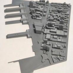 18.jpg Download STL file 3D Model of Manhattan Tile 18 • 3D printer object, denalain4