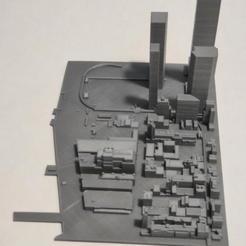 23.jpg Download STL file 3D Model of Manhattan Tile 23 • 3D printing template, denalain4