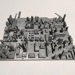 Impresiones 3D Modelo 3D del Azulejo de Manhattan 35, denalain4