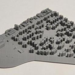 22.jpg Download STL file 3D Model of Manhattan Tile 22 • 3D printer template, denalain4