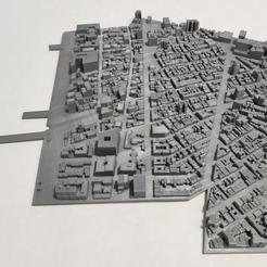 12.jpg Download STL file 3D Model of Manhattan Tile 12 • 3D print template, denalain4