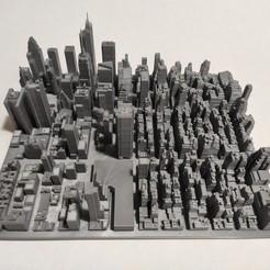c28.jpg Download STL file 3D Model of Manhattan Tile 28 • 3D printing object, denalain4