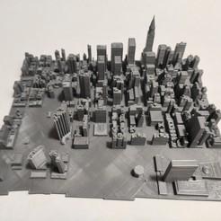 Imprimir en 3D Modelo 3D del Azulejo de Manhattan 30, denalain4