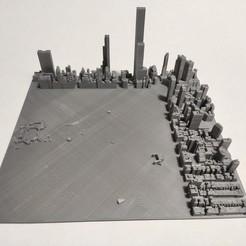 c36.jpg Download STL file 3D Model of Manhattan Tile 36 • 3D printer object, denalain4