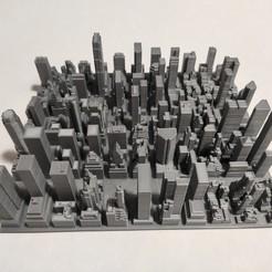 c33.jpg Download STL file 3D Model of Manhattan Tile 33 • 3D printable template, denalain4
