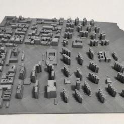 15.jpg Download STL file 3D Model of Manhattan Tile 15 • 3D printable template, denalain4