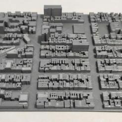 16.jpg Download STL file 3D Model of Manhattan Tile 16 • Template to 3D print, denalain4