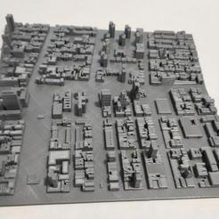 14.jpg Download STL file 3D Model of Manhattan Tile 14 • 3D printing template, denalain4