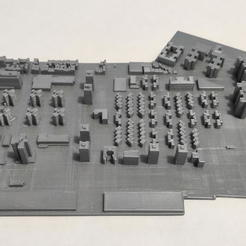 11.jpg Download STL file 3D Model of Manhattan Tile 11 • Design to 3D print, denalain4