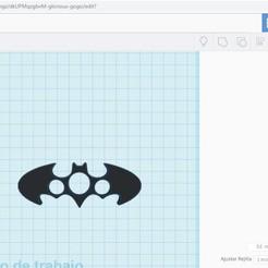 Descargar modelos 3D para imprimir Bati-Bumerang, geremi15