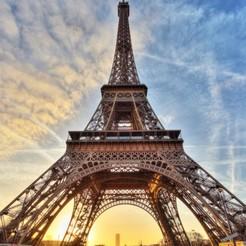 Download 3D printer templates Eiffel Tower Paris, geremi15