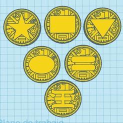 zeo ranger.jpg Download STL file coins zeo • 3D printer design, MalasPulgasDesign