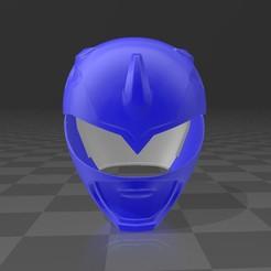 Descargar archivos STL power ranger blue, MalasPulgasDesign