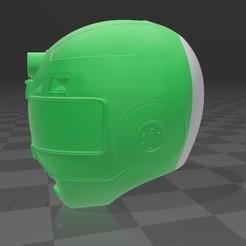 1.jpg Télécharger fichier STL green turbo ranger • Objet pour impression 3D, MalasPulgasDesign