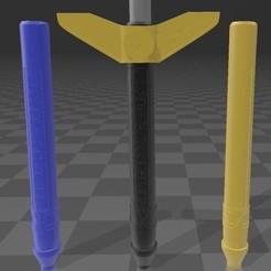 Download STL zeo sword, MalasPulgasDesign