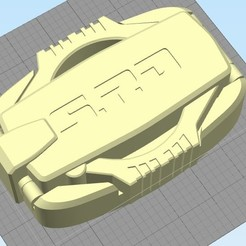 Download STL file Power Rangers SPD Buckle / Dekaranger Buckle, R17