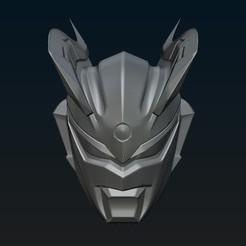 Modelos 3D para imprimir Máscara Ultraman Zero 3d, R17