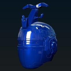 STL Bluebeet / Big Bad Beetleborg Helmet, R17