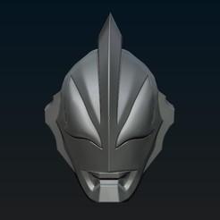 Diseños 3D Casco Ultraman Geed 3d, R17