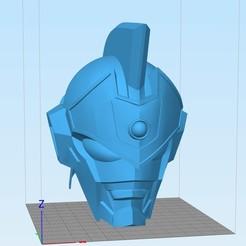 STL Gridman / Super Human Samurai Helmet, R17