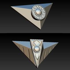 buckles.jpg Download STL file Timeranger Timeforce Buckles • 3D printer model, R17