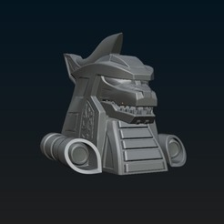 Download STL Thunderzord 3d helmet, R17