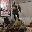 Imprimir en 3D gratis dios de la guerra kratos antiguo, andremickael0254