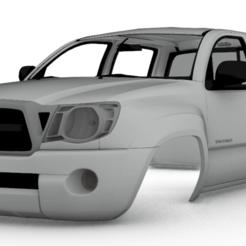 Captura de pantalla (255).png Télécharger fichier STL toyota tacoma 2011 1/10 313 mm corps • Modèle imprimable en 3D, aleessa