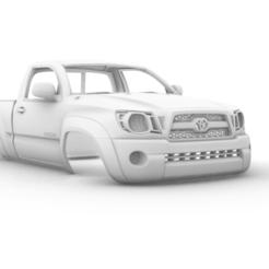 Captura de pantalla (324).png Télécharger fichier STL Toyota Tacoma Regular Cab 2011 285 mm • Plan imprimable en 3D, aleessa