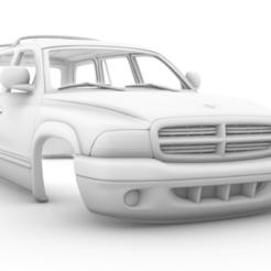 Captura de pantalla (457).png Télécharger fichier STL Dodge Durango 1997 313mm • Objet imprimable en 3D, aleessa
